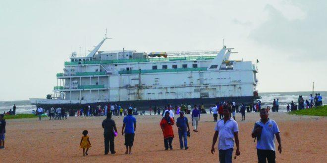 सहावे कॅसिनो जहाज मिरामार समुद्रात रूतले