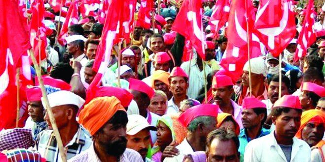 ३० हजार शेतकर्यांचा महामोर्चा मुंबईत दाखल