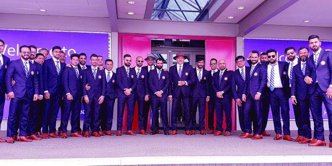 टीम इंडिया लंडनमध्ये दाखल