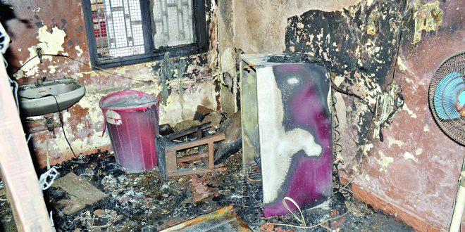 मतदानयंत्रे ठेवलेल्या इमारतीजवळ मडगावात आग ः स्ट्रॉंग रूम सुरक्षित