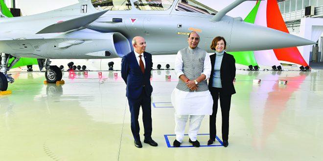 पहिले राफेल विमान भारताच्या ताब्यात